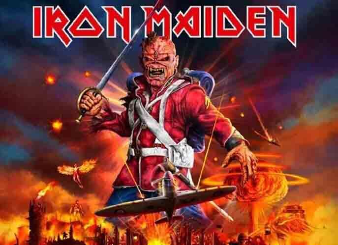 Iron Maiden En Tournée Paris La Défense Arena